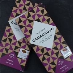 Cacaosuyo's  Lakuna bar is an amazing Peruvian dark chocolate made from rare cocoa beans that grow deep in the rain forests of Peru.