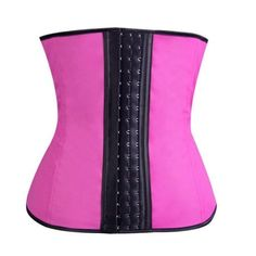 d9b90e6ee Women s Waist Tummy Breathable Body Shapewear Belt Corset Cincher Waist  Trimmer - Pink