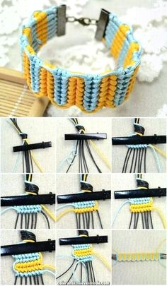 DIY Easy and Beautiful Knot Bracelet DIY Easy and Beautiful Knot Bracelet Diy Bracelets Easy, Bracelet Crafts, Jewelry Crafts, Diy Bracelets Step By Step, Beaded Crafts, Macrame Tutorial, Bracelet Tutorial, Macrame Jewelry, Macrame Bracelets