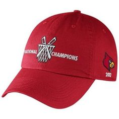 Nike Louisville Cardinals 2013 NCAA Men's Basketball National Champions Celebration Adjustable Hat – Red