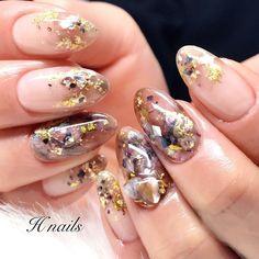 42 elegant nail art designs for prom 2019 29 42 elegant nail art designs for p. Fabulous Nails, Gorgeous Nails, Bridal Nails, Wedding Nails, Cute Nails, Pretty Nails, Nail Art Designs, Korean Nail Art, Elegant Nail Art