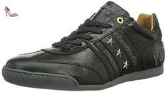 Pantofola d'Oro  Ascoli Piceno Low Uni Men, Baskets pour homme - Noir - Noir, 46 EU (11 Homme UK) EU - Chaussures pantofola doro (*Partner-Link)