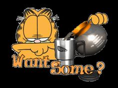 Morning Coffee Quotes Funny | ... > Good Morning Afternoon Night > Garfield Morning Coffee Graphic