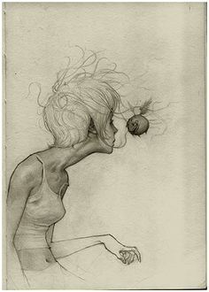 Beautiful.        Drawings by Joao Paulo Alvares Ruas The Funny Web
