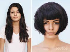 Long To Short Hair, Short Blonde, Short Hair Cuts, Short Hair Styles, Kelly Cut, Hairstyles Haircuts, Bob Haircuts, Before And After Haircut, Extreme Hair