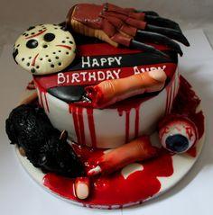 https://flic.kr/p/vmv5Ym | Horror Film Birthday Cake!!