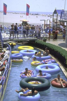 Relax in the Lazy River at Morey's Piers