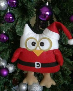 Owl tree decoration.