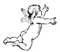Angel Drawings | Little angel drawing