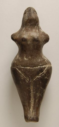 Ceramic Figurine of a Woman  5300BC-4500BC  Neolithic  The British Museum