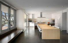 küche mit kochinsel kochinsel mit integriertem esstisch bilder ...