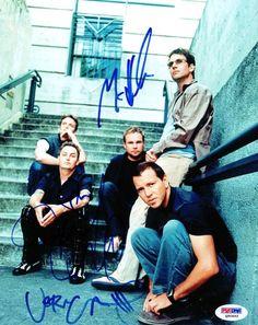 Jeff Ament, Stone Gossard, Mike McCready & Matt Camron Autographed 8x10 Photo Pearl Jam PSA/DNA #Q90493