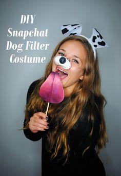 DIY Snapchat Dog Filter Tutorial