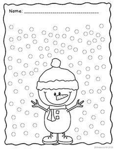 Q-Tip Painting: Fine Motor Practice for Young Students Preschool Classroom, Classroom Activities, Preschool Crafts, Numbers Preschool, Snow Activities, Kindergarten Activities, Preschool Activities, Winter Fun, Winter Theme