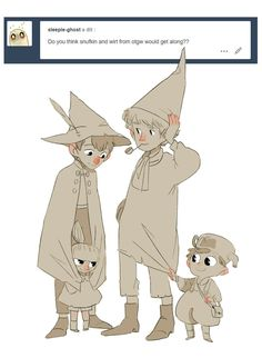 Moomin Valley, Tove Jansson, Over The Garden Wall, Cartoon Crossovers, My Character, Character Design, Cartoon Shows, Cute Characters, Drawing Reference