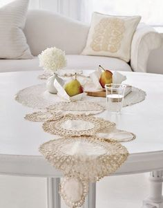 Decorate with Vintage Doilies — Country Living