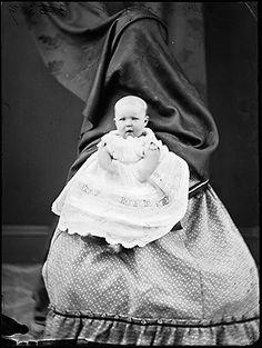 Hidden Mothers: Seventeen  19th Century Baby Portraits