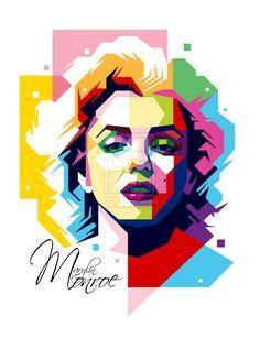 Marylin Monroe by aryakuza on DeviantArt  | This image first pinned to Marilyn Monroe Art board, here: http://pinterest.com/fairbanksgrafix/marilyn-monroe-art/ || #Art #MarilynMonroe