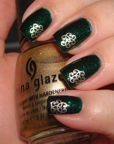 Beautopia Shows Off a St. Patrick's Day Manicure