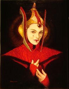 Star Wars - Princess Amidala by Manuel Pérez Clemente (Sanjulian)