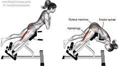 One-leg hyperextension exercise