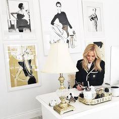 "4,725 Likes, 71 Comments - Megan Hess (@meganhess_official) on Instagram: ""At my studio desk...."""