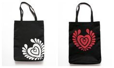 Bags with hungarian folk motifs