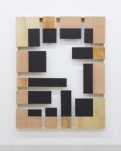 KISHIO SUGA - Situational Interiority, 2017. Wood, acrylic, 187 x 149 x 10.5 cm