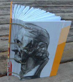 My Handbound Books - Bookbinding Blog: Face on the spine