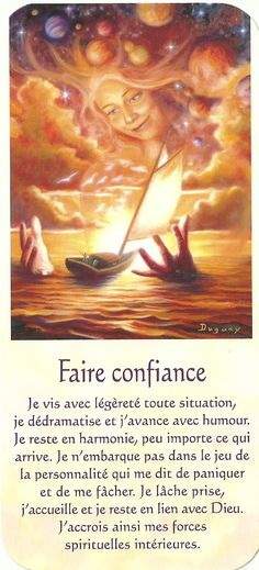 Faire confiance Positive Attitude, Positive Thoughts, Positive Vibes, Deep Thoughts, Chakras, Mario, French Quotes, Spiritual Inspiration, Self Development