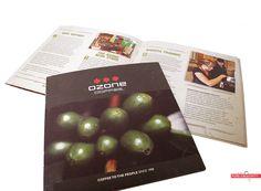 The Ozone Coffee Wholesale brochure. #cool #print #design