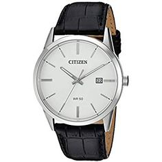 2c77afcb931 Citizen Men s BI5000-01A New Quartz White Dial Wrist Watch
