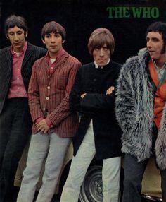 - The Who - Pete Townshend / Keith Moon / Roger Daltrey & John Entwistle