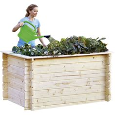 outdoor life Holz-Hochbeet 130 Shops, Obi, Outdoor Furniture, Outdoor Decor, Outdoor Storage, Home Decor, Lawn And Garden, Tents, Decoration Home