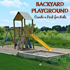 Diy Backyard Playground Ideas swing set diy Create Your Own Diy Backyard Playground To Entertain The Kids This Is An Easy Construction