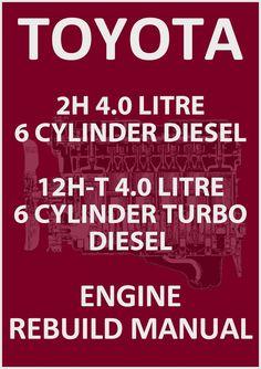 Nissan td27 engine service manual 4 taller pinterest nissan toyota 2h 12h t 6 cylinder diesel engine rebuild workshop manual fandeluxe Images