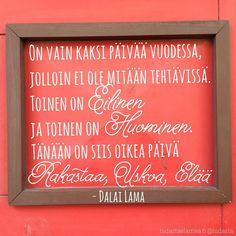 """7 kannustavaa kuvaa Sinulle: """"Et ole liian vanha, eikä ole liian myöhäistä"""" Finnish Words, Motivational Quotes, Funny Quotes, Tumblr Pages, Powerful Quotes, Life Advice, Smash Book, Funny Texts, Qoutes"""