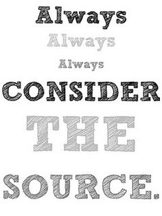 Always consider the source. #printables