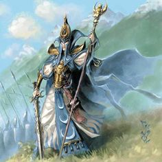 Teclis is the current High Loremaster of the Tower of Hoeth, and the greatest living mage amongst the High Elves. He is a descendant of Astarielle, a past Everqueen, and Aenarion, the first Phoenix King, through their first-born son Morelion. Thereby is a very distant relative of both Malekith (Aenarion's second son by Morathi) and Alarielle, the current Everqueen, who is a descendant of Aenarion's daughter Yvraine, Morelion's twin. He is one of the most powerful mages of the Warhammer…