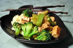garlic broccoli stirfry