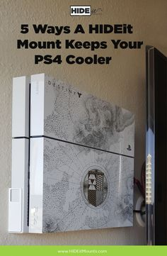 Heat and gaming consoles are always a concern, find out how a wall mounting your PS4 could be the best thing for it, in terms keeping it cool!