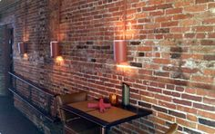 From old schoolhouses to factories, we curate old full bricks and slice them into thin brick veneer and floor tiles, while keeping the antique look. Brick Veneer Wall, Thin Brick Veneer, Brick Walls, Brick Interior, Interior Walls, House Painting Cost, Stone Farms, Brick Face, Interior Design Games