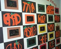 Pumpkin Names. We did this in my fifth grade class. They loved it!