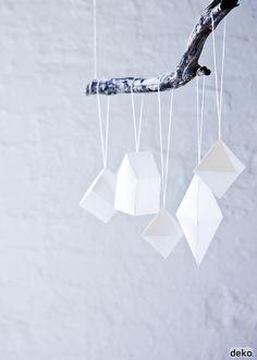 DIY Geometrical Ornaments
