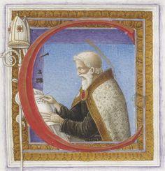 S. Cyprianus , Carthaginensis episcopus, Epistolae. -- 1400-1500 -- manuscrits
