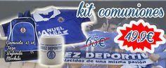 El Xerez Deportivo FC saca a la venta una serie de kits de productos xerecistas de cara a los regalos de comunión. Puedes encontrar diferentes paquetes con distintos precios, pero todos ellos con importantes descuentos.