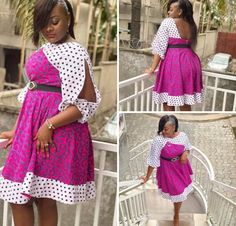 Ankara Short Gown Styles, African Fashion Designers, Latest African Fashion Dresses, African Dresses For Women, African Print Fashion, African Wear, African Attire, Casual Gowns, African Jumpsuit