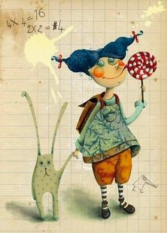 Marie Desbons  Poitiers.France  --- the contemporary French illustrator