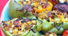 This made for a very colorful platter of food. I served this along side that Sexy Beer Can Chicken I blogged about a week ago. It's...