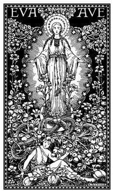 Maria é mais abençoado porque ela abraça a fé em Cristo do que por ela concebe a carne de Cristo.  St. Augustinho